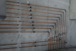 монтаж трубопровода медицинских газов