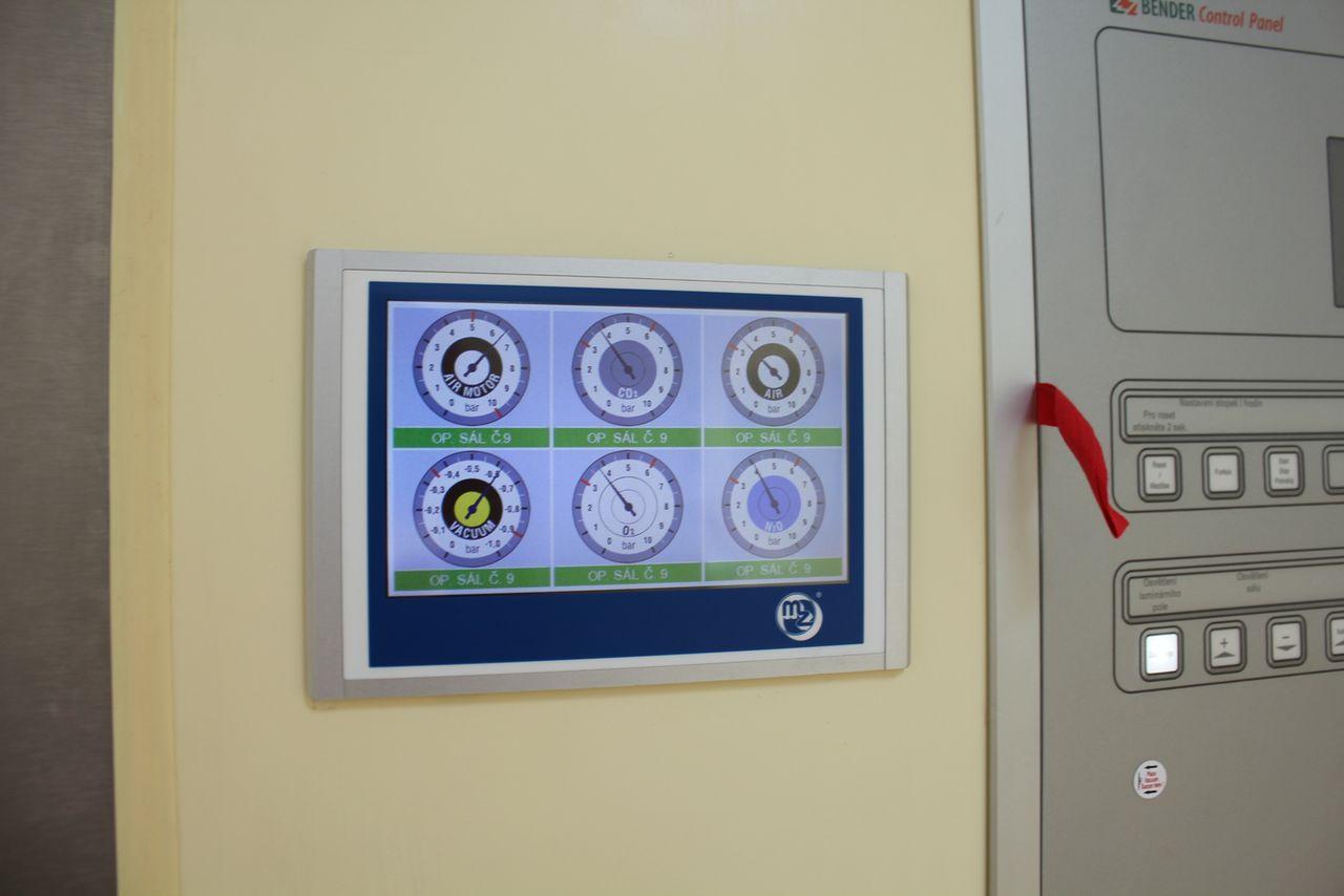 Системы управления медицинскими газами