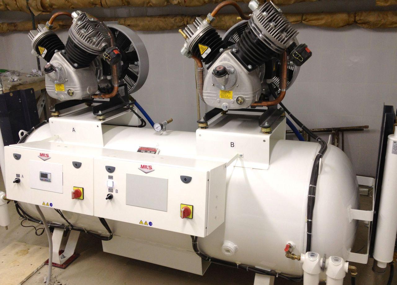 компрессорные станции для генерации сжатого воздуха