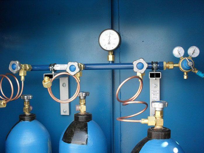 Монтаж газовых рамп